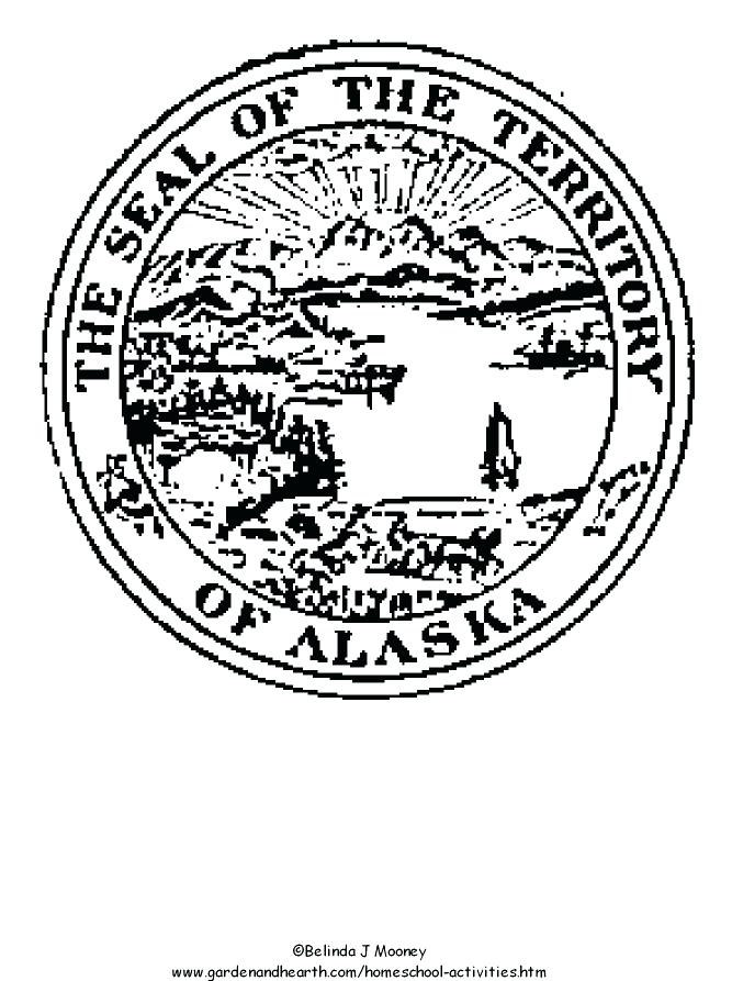 667x893 Seal Coloring Pages State Seal Coloring Page Photograph State Seal