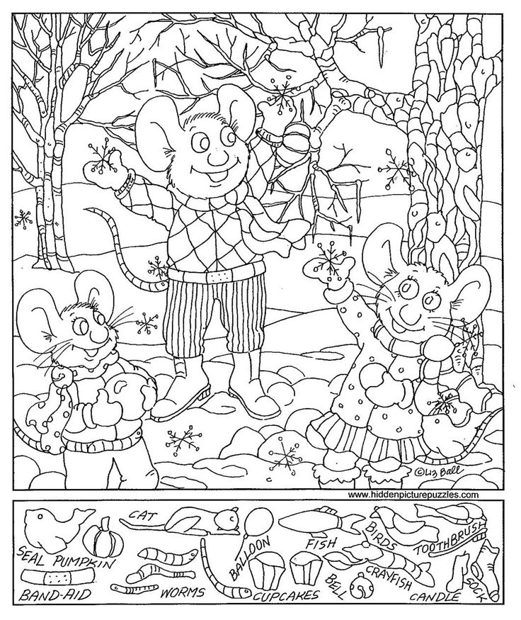 736x875 Hidden Picture Coloring Pages Amazing Search And Find Pictures