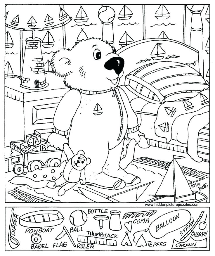 736x876 Hidden Pictures Coloring Pages Hidden Pictures Coloring Pages
