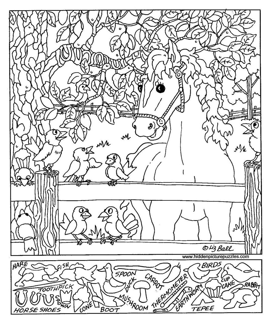 1073x1289 Search And Find Coloring Pages
