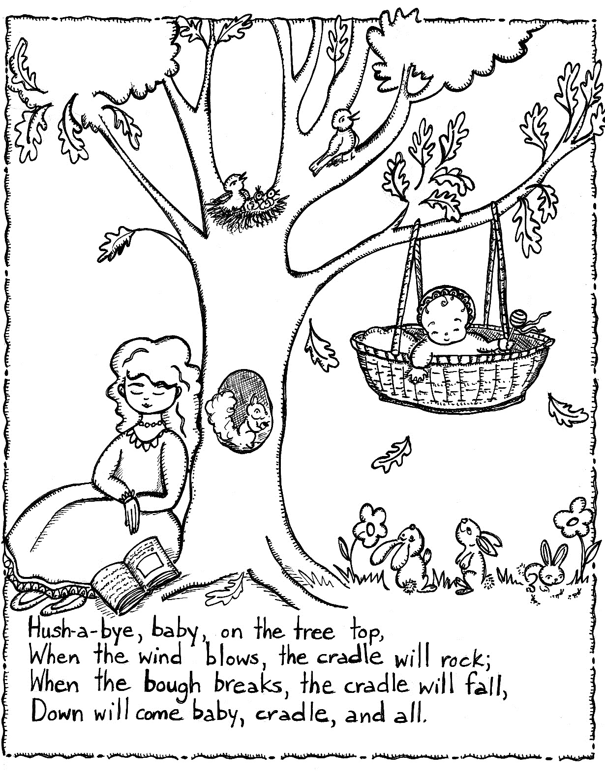 1230x1575 Sensational Little Miss Muffet Coloring Page Color In Nursery