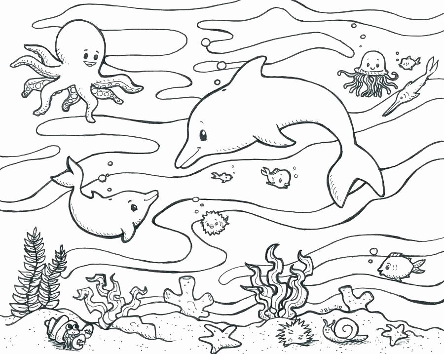 900x717 Ocean Coral Coloring Pages Image Lovely Seascape Coloring Pages