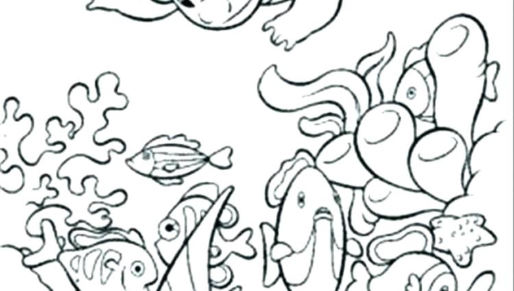 750x425 Seascape Coloring Pages Whale Seascape Coloring Page Free Seascape
