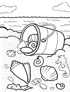 236x311 Free Downloadable Summer Fun Coloring Book Pages Coloring Books