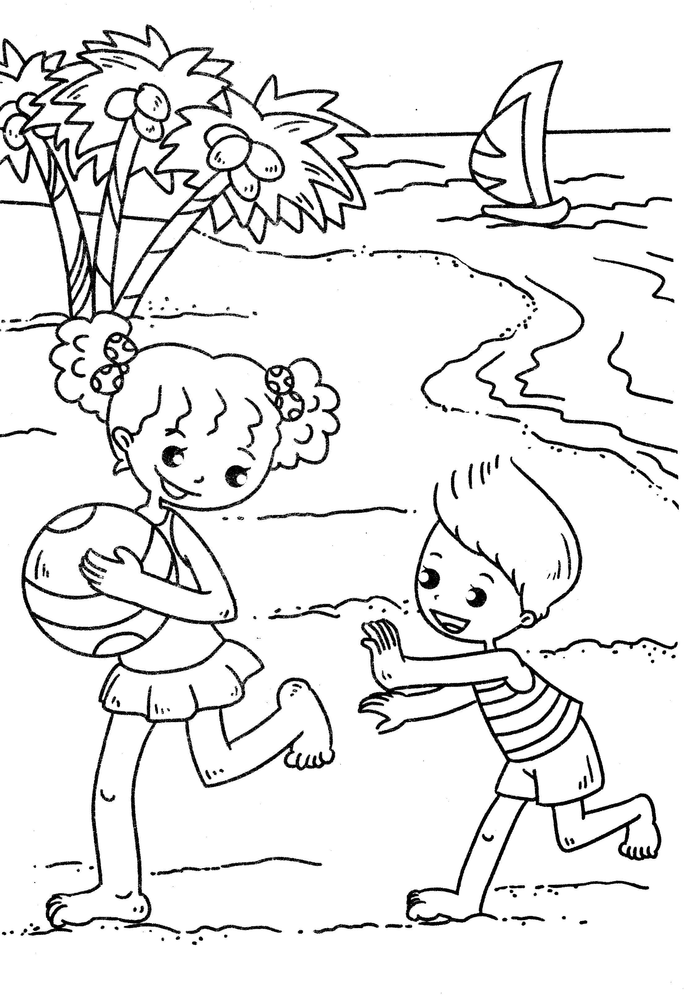2213x3227 Last Minute Seashore Coloring Pages Free Print