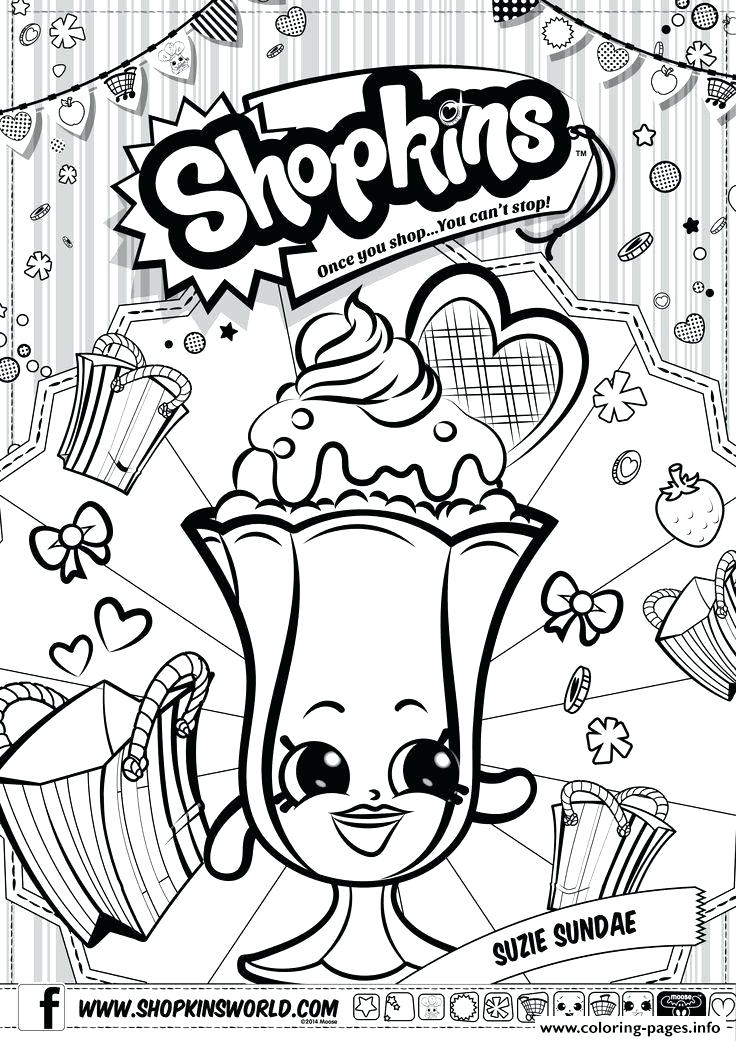 photo relating to Printable Shopkins Posters referred to as Period 4 Shopkins Coloring Webpages at  Free of charge