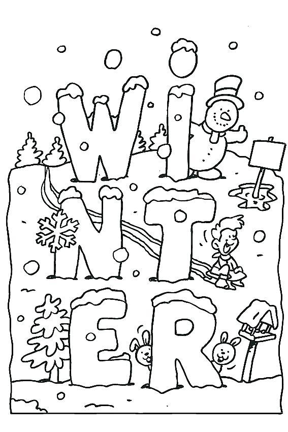 567x850 Seasons Coloring Pages Seasons Colori Pages Winter Sheets Seasons