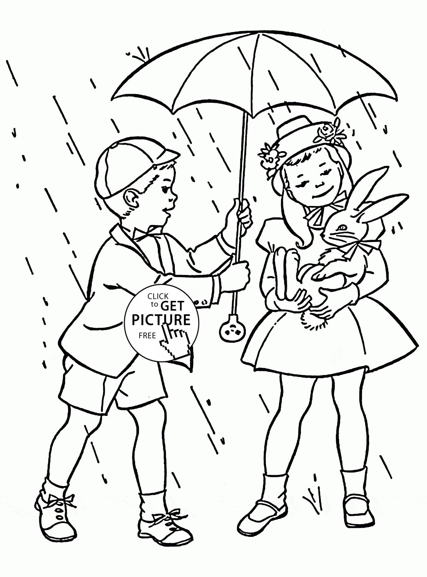 1480x2000 Spring Rain Coloring Pages Copy Kids And Spring Rain Coloring Page
