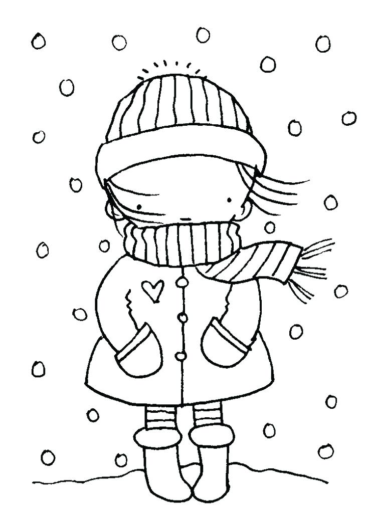 736x1030 Seasons Coloring Pages Winter Season Coloring Pages For Kids