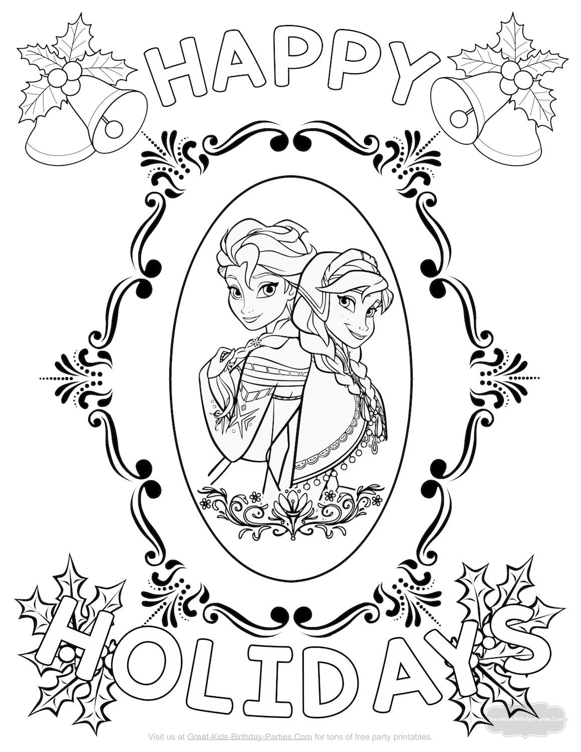 1159x1500 Xfrozen Christmas Coloring Page Png Pagespeed Ic Within