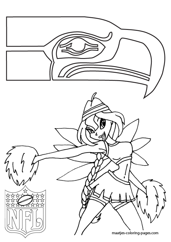 595x842 Seattle Coloring Pages