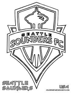 236x305 Sounders Soccer Seattle Sounders Soccer Coloring Printable