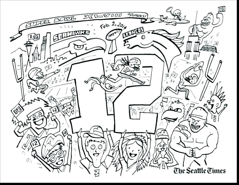 945x730 Seattle Seahawks Coloring Pages Also Logo Coloring Pages Helmet