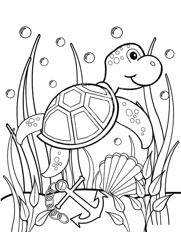 600x768 Seaweed Coloring Pages Coloring Pages Seaweed Images Baby Sea