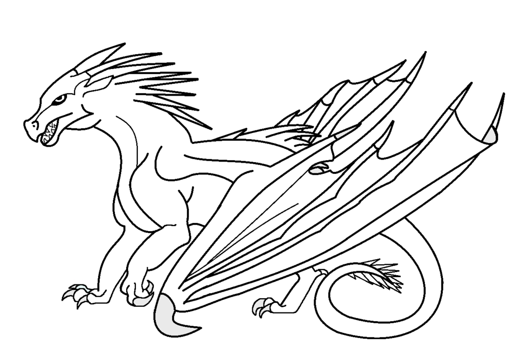 Seawing Coloring Pages