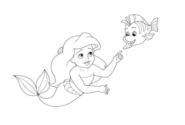 Sebastian The Crab Coloring Pages at GetDrawings.com | Free for ...