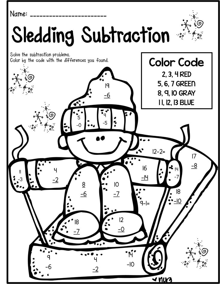 736x950 Adorable Free Printable Winter Worksheets For First Grade