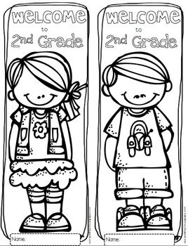 268x350 Free Welcome To Any Grade {pre K Through Grade} Coloring