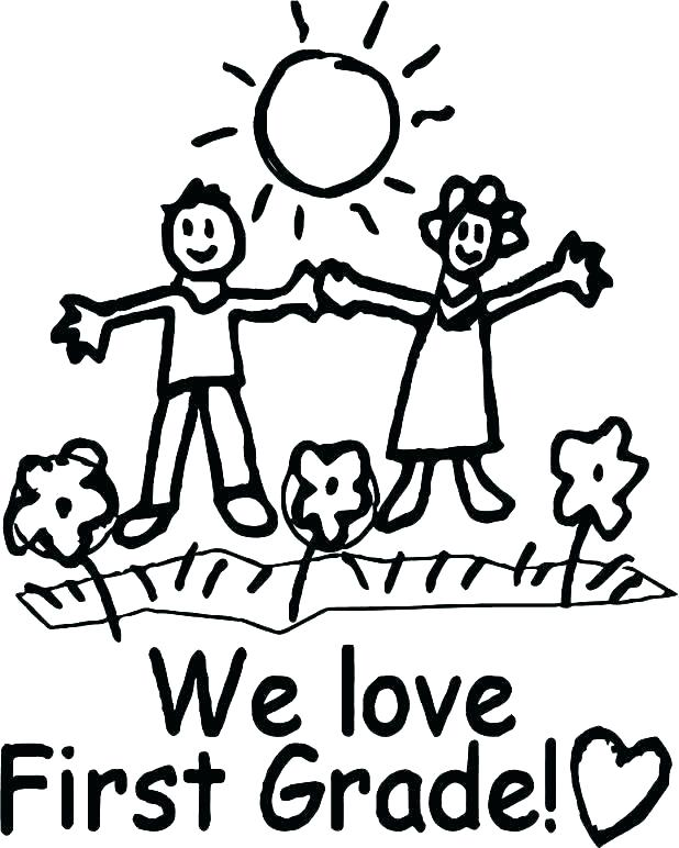 618x772 Grade Coloring Pages Coloring Pages For First Grade Third