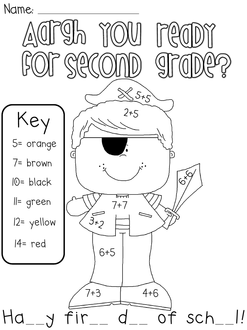 800x1067 Welcome To Second Grade Coloring Pages Collection Free Coloring
