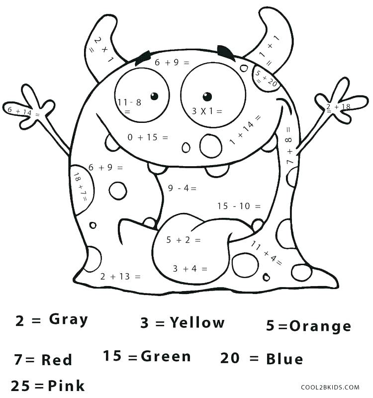 750x800 Grade Coloring Pages Math Coloring Pages For Grade Coloring