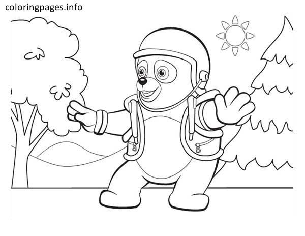 Secret Agent Coloring Pages
