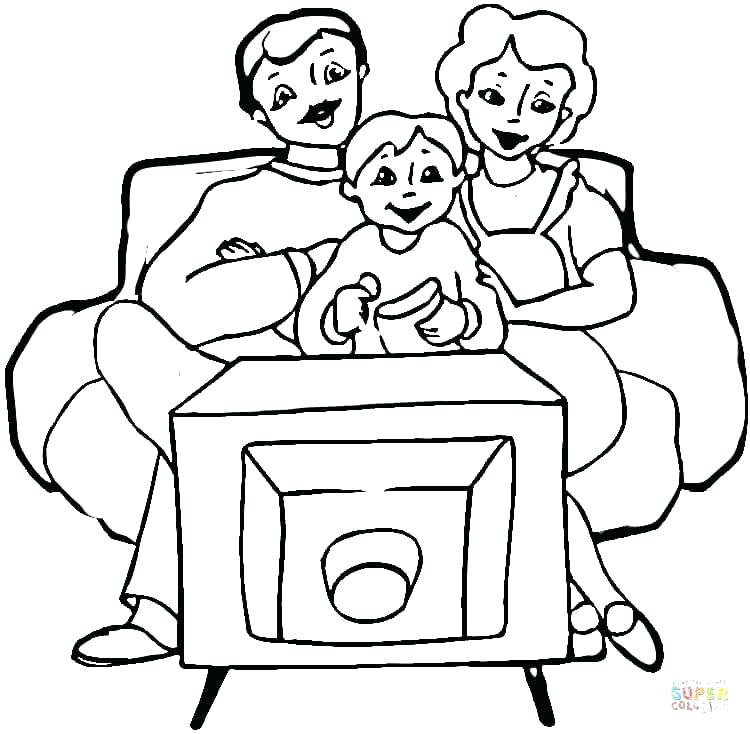 750x734 Oso Coloring Pages Family In Front Of Coloring Page Free Printable