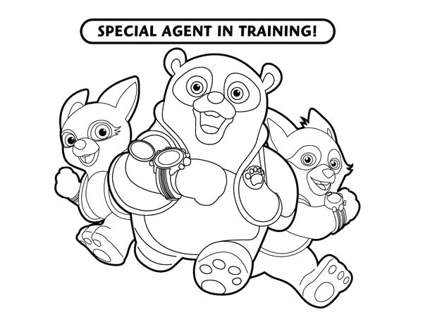 600x464 Oso Coloring Pages Special Agent Coloring Pages Oso Special