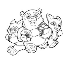 236x207 Special Agent Oso Coloring Pages Coloring Pages