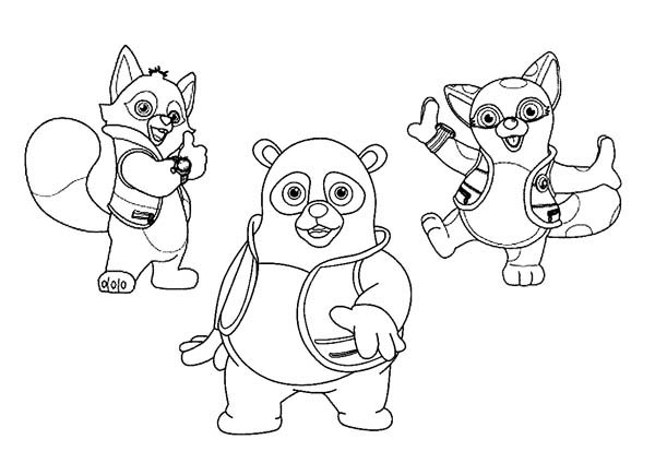 600x424 Special Agent Oso Coloring Pages Free