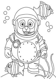 226x320 Disney Junior Coloring Pages Special Agent Oso Free Disney