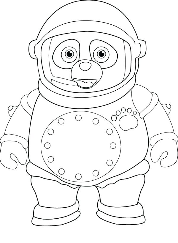 600x818 Free Printable Special Agent Oso Coloring Pages Kids Coloring