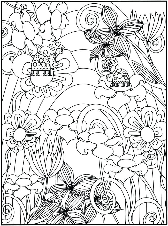 650x873 Garden Coloring Page Secret Garden Coloring Pages To Print