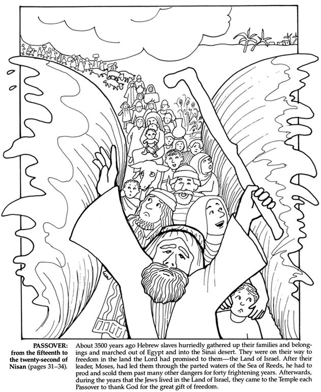 631x770 Jewish Holidays And Traditions Coloring Book Dover Publications