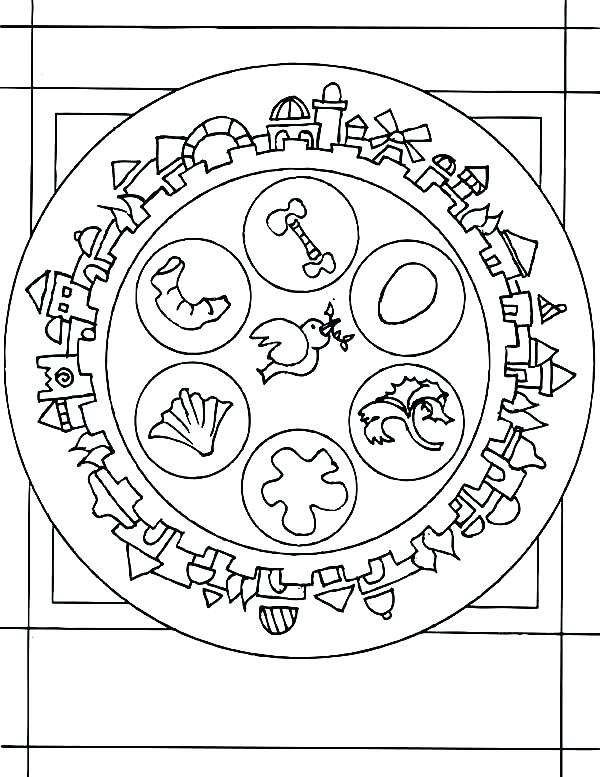 600x777 Passover Coloring Page Coloring Page Passover Coloring Pages Free
