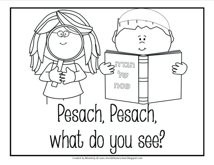 728x562 Passover Seder Plate Coloring Page Messianic Education Trusts Kids