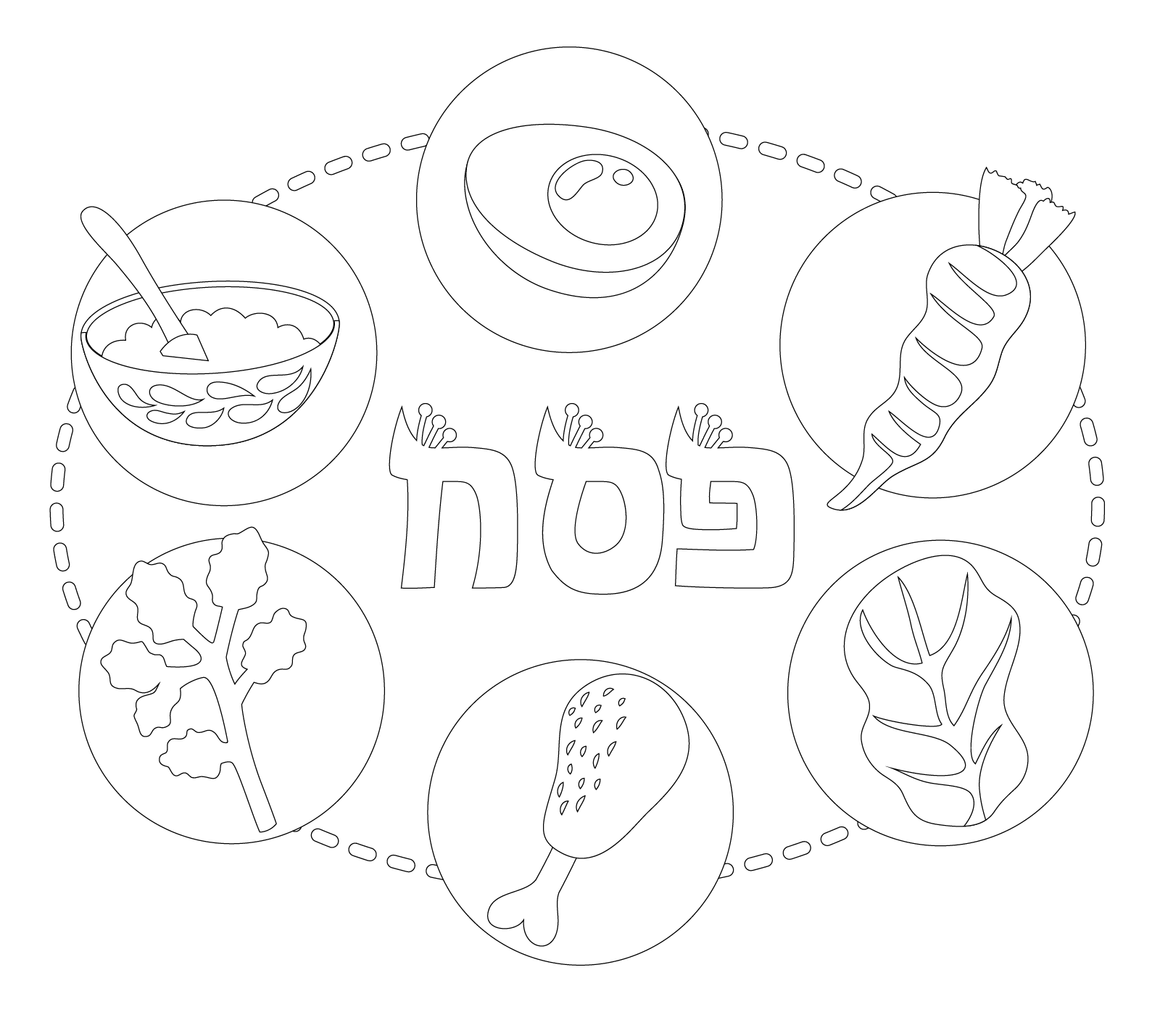 photograph about Printable Seder Plate identify Seder Plate Coloring Webpages at  No cost for