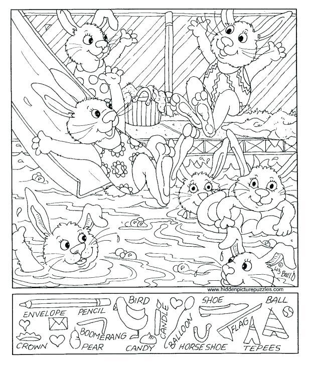 618x728 Hidden Picture Coloring Pages Hidden Pictures Inspirational Hidden