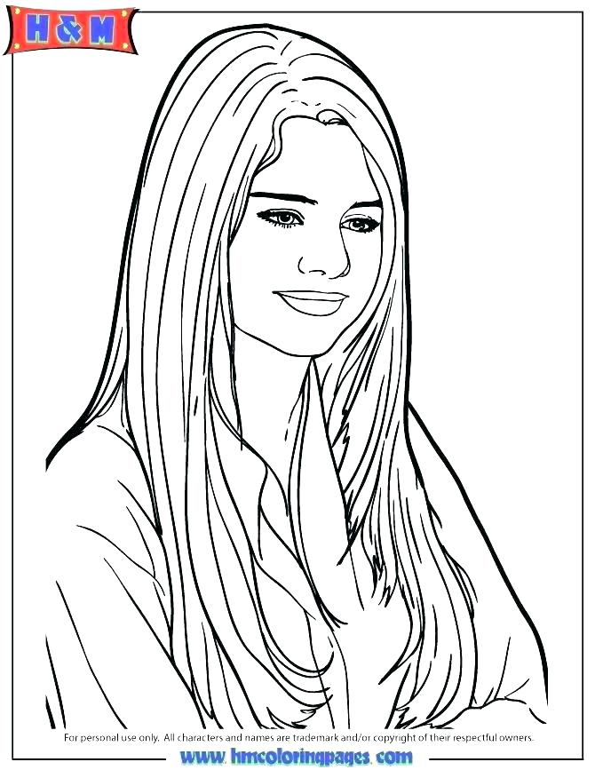 670x867 Selena Gomez Coloring Pages Coloring Page Coloring Page Coloring