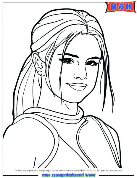 463x600 Selena Gomez Coloring Pages Coloring Pages The Best Coloring Pages
