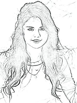 300x400 Coloring Pages Coloring Pages Justin Bieber And Selena Gomez