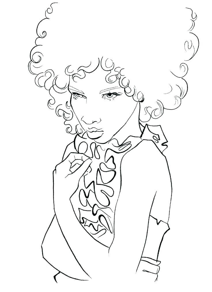 736x1013 Self Portrait Coloring Page Self Portrait Coloring Page Girl