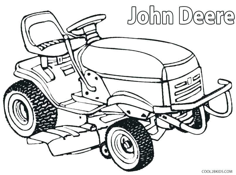 805x598 Tractor Coloring Pages John Coloring Pages To Print Semi Truck