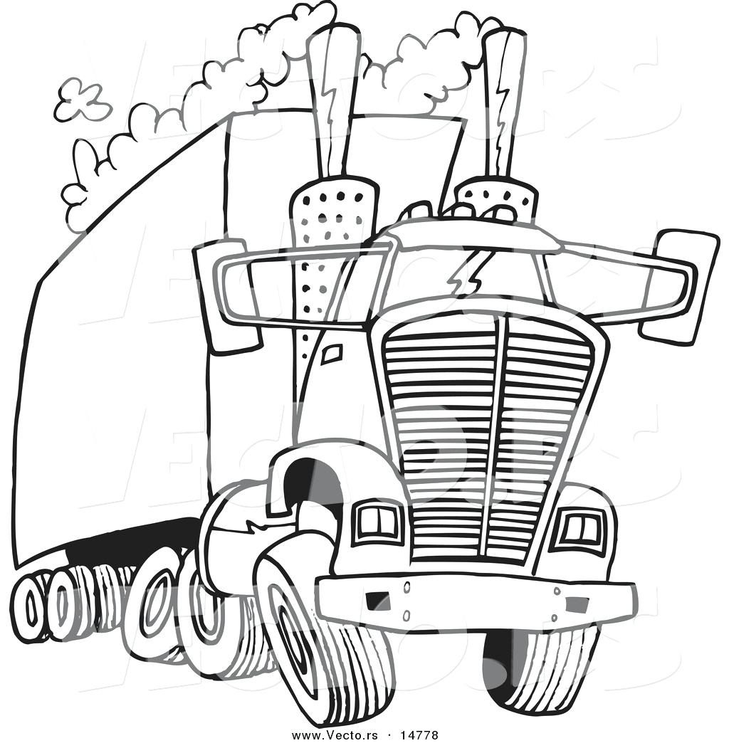 1024x1044 Coloring Pages Semi Truck Coloring Pages Free Printable Semi