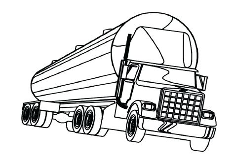 476x333 Semi Truck Coloring Pages Semi Truck Coloring Pages Semi Truck