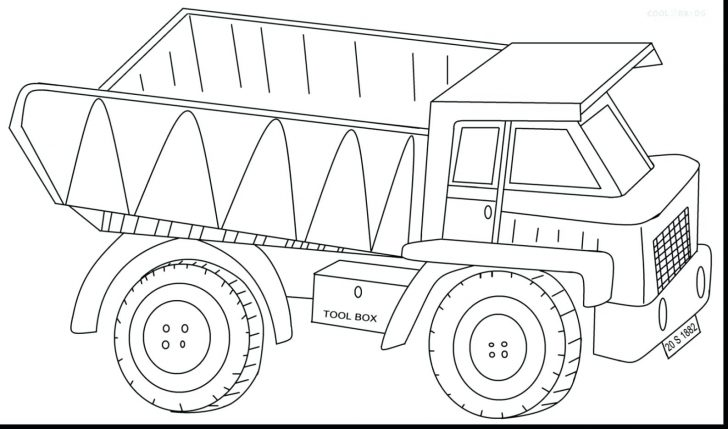 728x429 Lego Semi Truck Coloring Pages Dump Colouring In Humorous Print