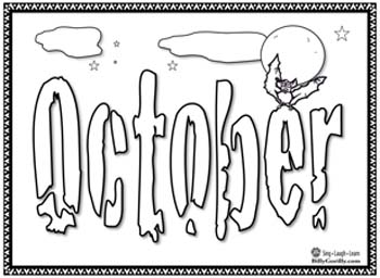 350x256 Kids Educational Music Months Coloring Pages Teacher Resources