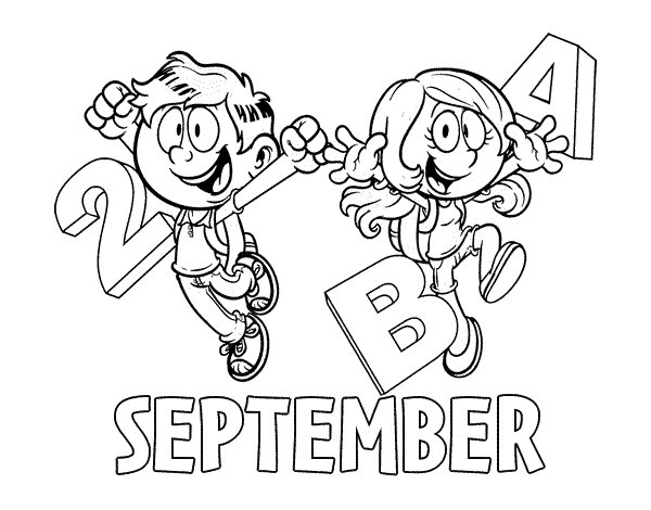 600x470 September Coloring Page Coloringcrewcom, September Coloring Sheets