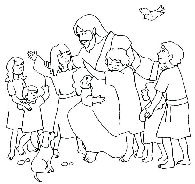 640x604 Helping Others Coloring Pages Free Coloring Pages Of Children