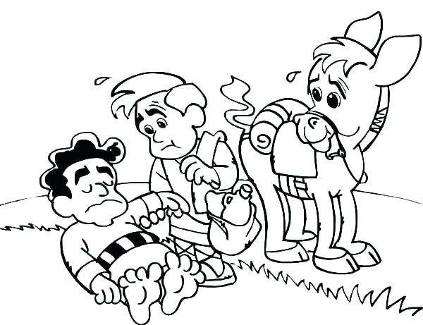 600x461 Helping Others Coloring Pages Road Coloring Page Helping Others